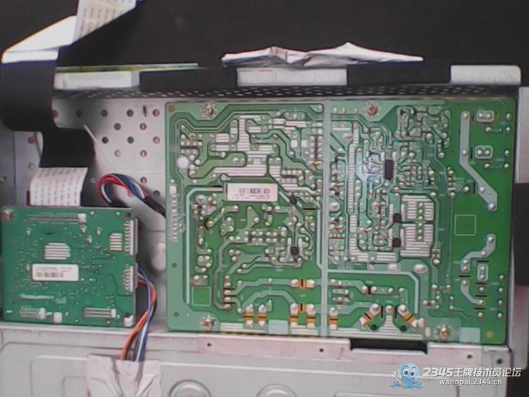 冠捷显示器2036电路框图