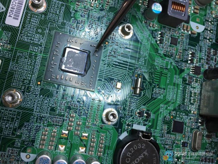 联想新圆梦h425加电无显示 cft3i 主板 不跑码 不开机