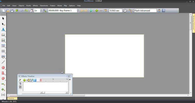 KoolMoves Demo(动画制作) V9.8.6.0