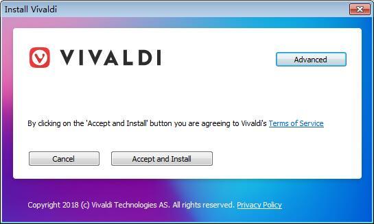 Vivaldi瀏覽器 64位下載