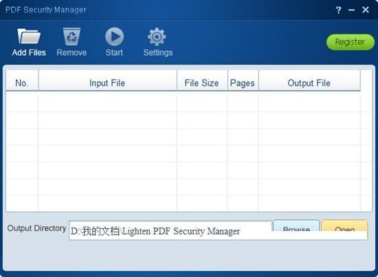 Lighten PDF Security Manager(PDF安全管理工具)下载