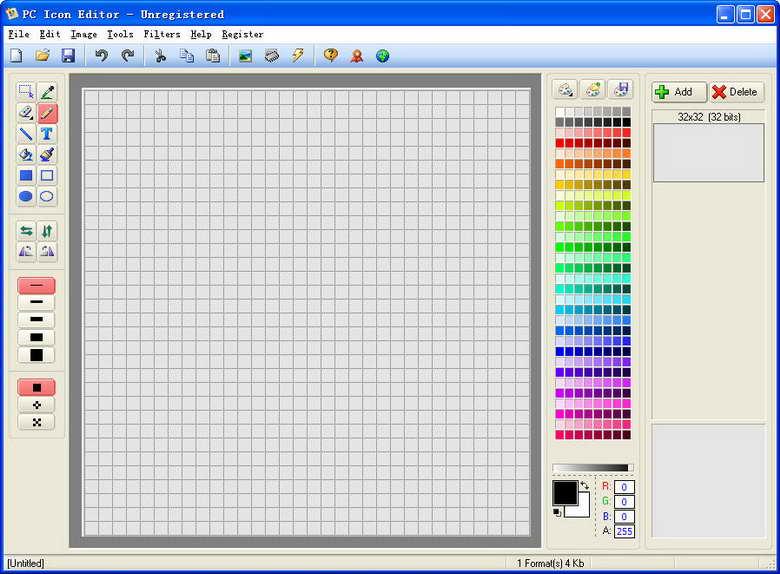 PC Icon Editor(ico图标编辑器)