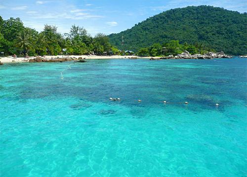 去热浪岛一定要出海游附近的海龟岛以及海洋公园.