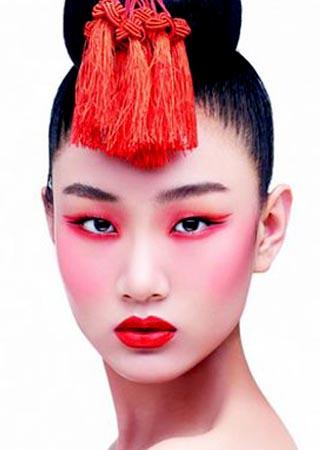中国红新娘妆容打造方法解析图片图片
