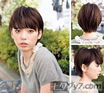 韩式自然清爽发型推荐-短发发型-美容