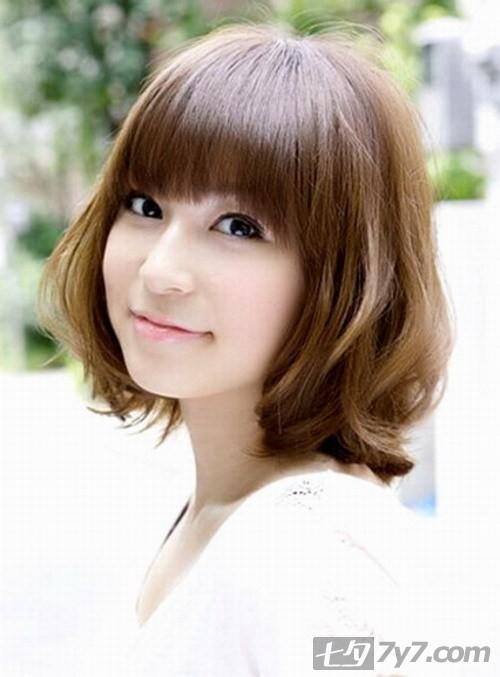 2011适合小脸修饰脸型的短发型