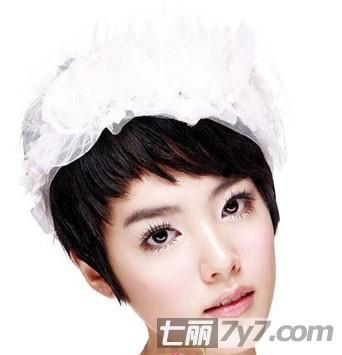 2011韩式最流行时尚的新娘发型图片
