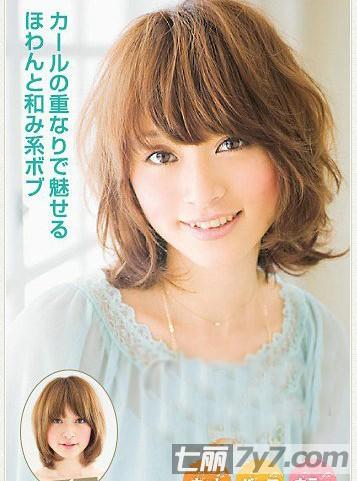 方脸适合的短发发型设计图片 多款独特风格任你挑小编点评:厚重的
