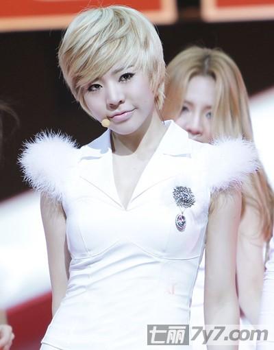 韩国女明星发型短发分享展示图片
