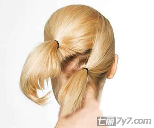 中长发盘发发型 夏季唯美法式盘发图解
