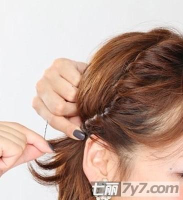 2012女生潮流瘦脸短发发型