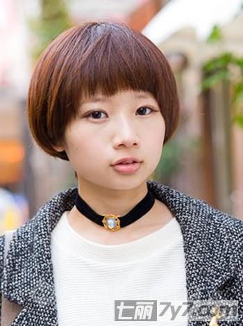 学生发型女齐耳短发分享展示图片