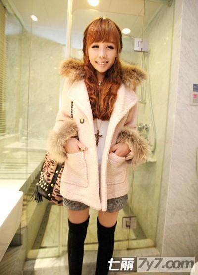 搭配150矮个子女生穿衣矮个子女生冬衣搭配冬装美女  竖