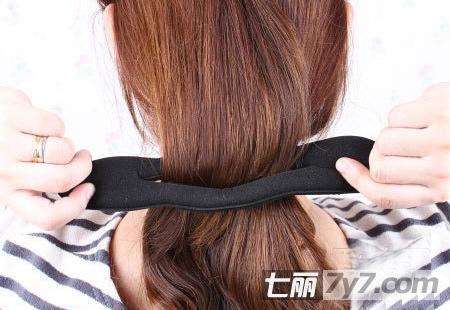韩式编发盘发教程图解 1分钟长发立即变短发