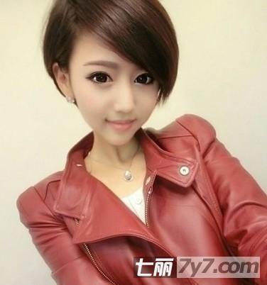 适合大脸女生的发型 最新显瘦减龄短发抢先看图片