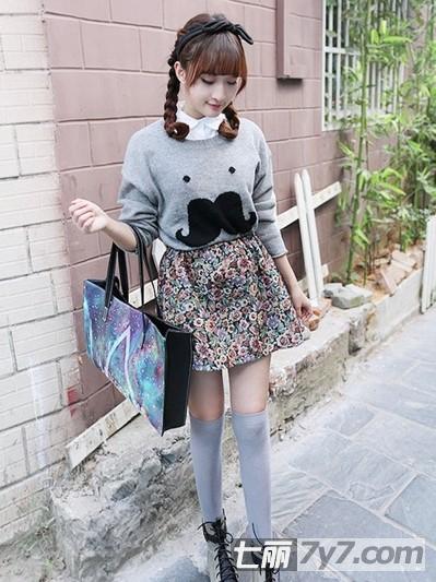 矮个子女生冬季穿衣搭配 女装外套短裙甜美又显瘦