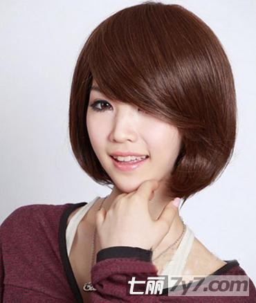 2013年女士短发发型图片 波波头VS梨花头图片