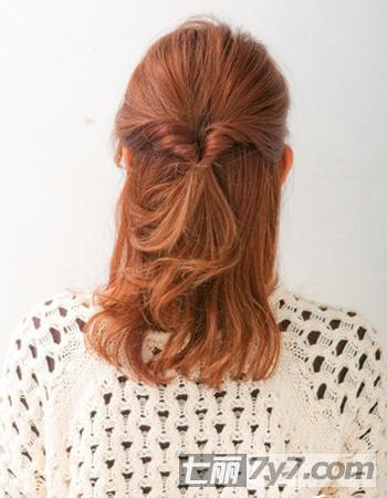 怎样扎公主的头发 公主发型扎法图解