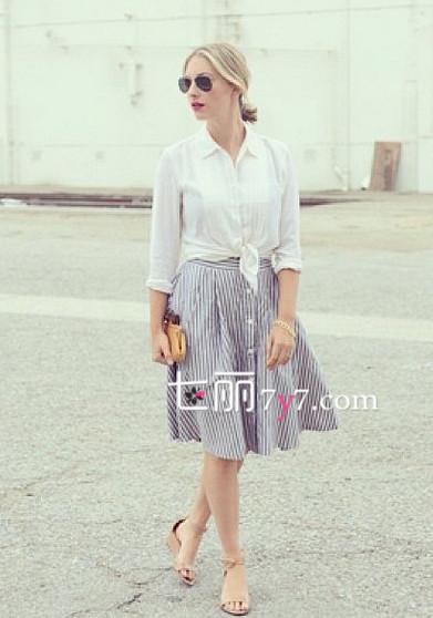 2014夏季服装搭配图片