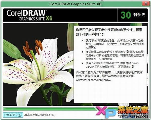 安装-coreldraw x6安装激活注册指南