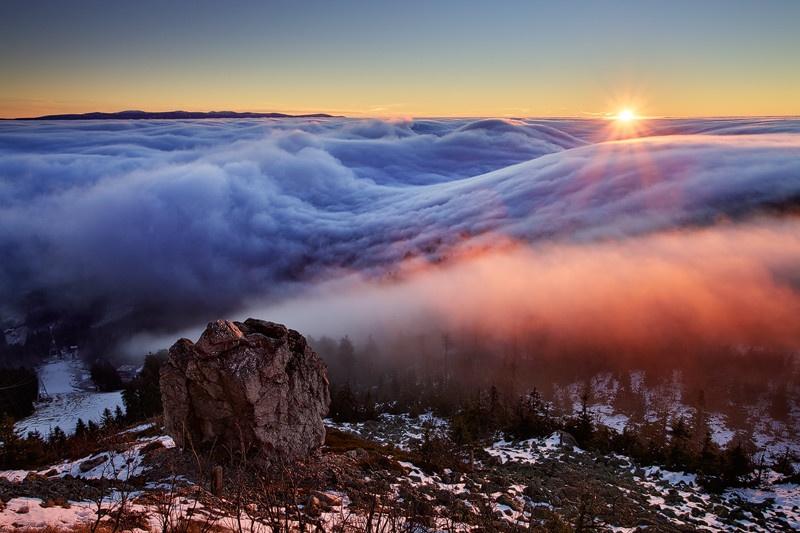 风光摄影:卢萨蒂亚的日出