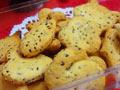 黑芝麻咸香饼干