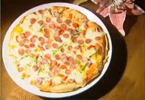 家庭自制披萨