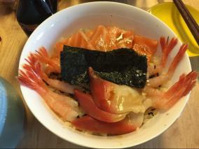 日式海鲜丼