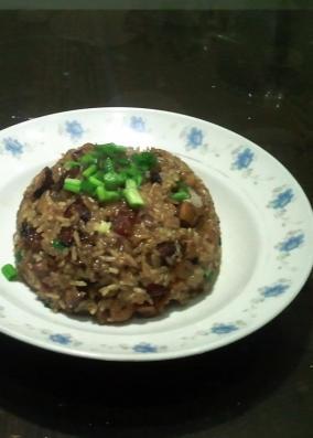 生炒腊味糯米饭