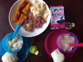 幼儿早餐分享
