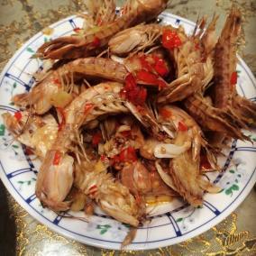 辣炒皮皮虾