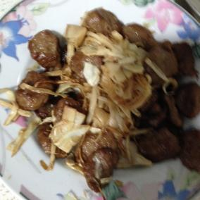 鲜笋炒腊肉