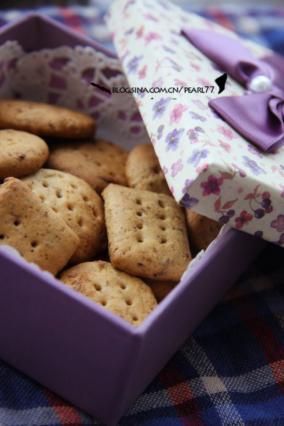 红枣红糖饼干