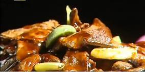 腊八蒜熘肝尖