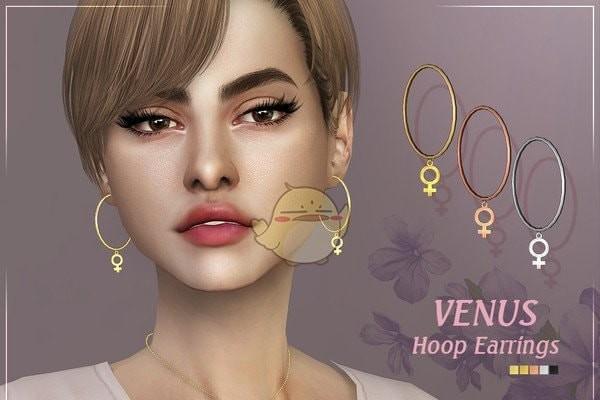 模拟人生4女性符号耳环MOD下载