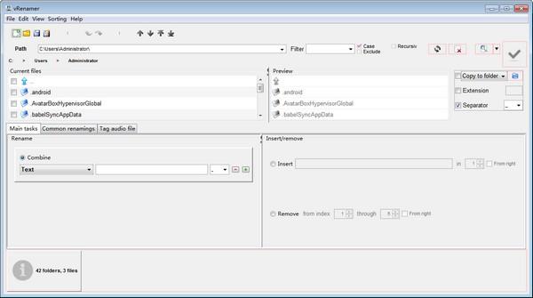 vRenamer(文件批量命名工具)下载