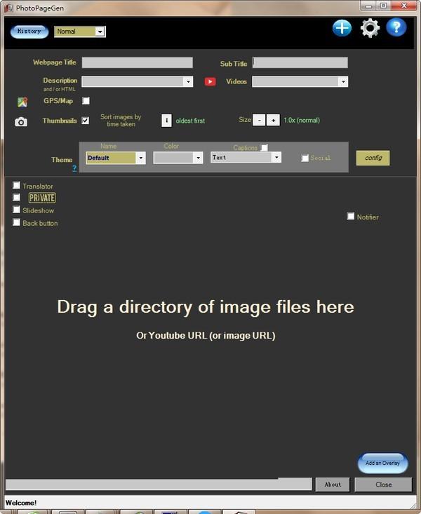 PhotoPageGen(电子相册制作软件)下载